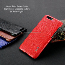 ORIGINAL imak Ruiyi LEATHER phone case For ONEPLUS 5 A5000 CROCODILE TEXTURE DESIGN ALLIGATOR LEATHER CASE