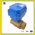 CWX-15Q 1/2 inch 1 inch 25mm DN25 2 way motor operated bass ball Valve
