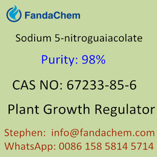 Sodium 5-nitroguaiacolate , cas no. 67233-85-6