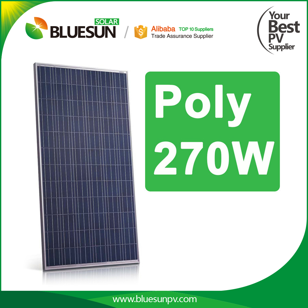 High efficiency 240v solar panel poly 260w 270w 280w manufacturer from china