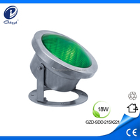 par 56 led swimming pool lights 18W LED underwater light