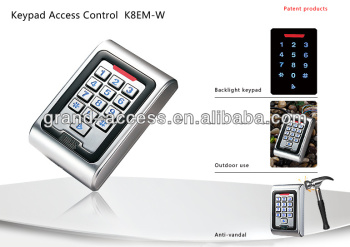Keypad Waterproof-IP68 Metal Access Control Reader,access control system card reader