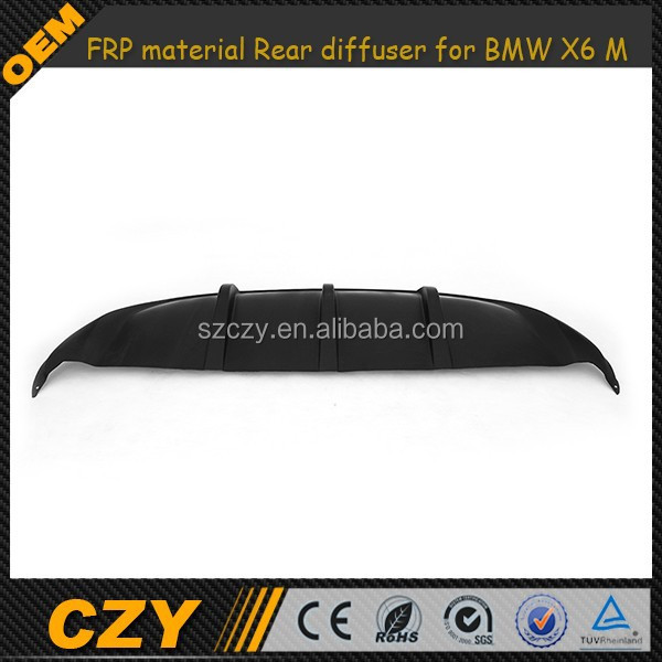 FRP Material Rear Diffuser for BMW X6 E71