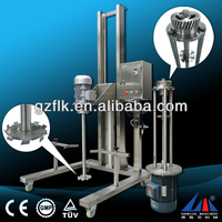 pneumatic high shear lubrication oil homogenizing factory machine