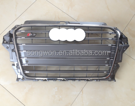 new S3 radiator grille for audi A3 2014