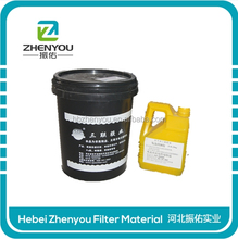 2016 china made heat curing epoxy polyurethane foam adheisve for filter with high quality