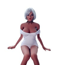 New product 158cm black Africa silicone sex doll for men skeleton small breast sex toy