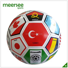 Country flag printed soccer ball for sales