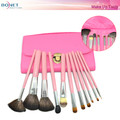 BMS0399 Beauty 11 PCS Make Up Tools In Hand Bag CosmeticTool