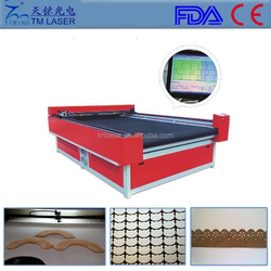 cutting size 1600mm*2500mm laser machine with cutting and engraving function used for fabric leather plywood acrylic