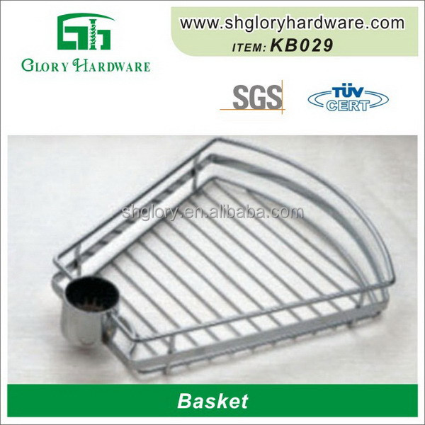 Decorative Top grade beautiful Front Metal Bike Basket