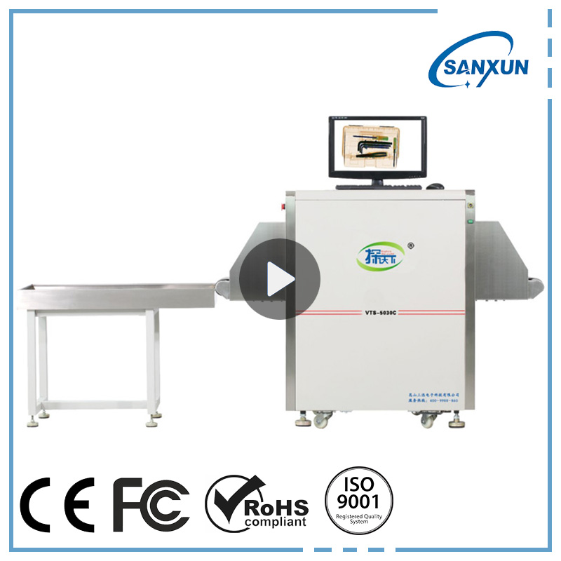 Petite Taille X-ray bagages/bagages/valise d'inspection scanner Fabrication Les fabricants, fournisseurs, exportateurs, grossistes