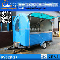 Stainless Steel Hot Dog Carts car for fast food hot dogs cars for sale