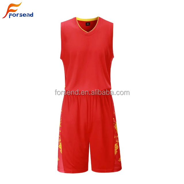 OEM Custom Polyester Basketball Jersey With High Quality