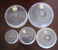Microwave Plate Cover Ventilated Microwave Lid Covers - Set of 5