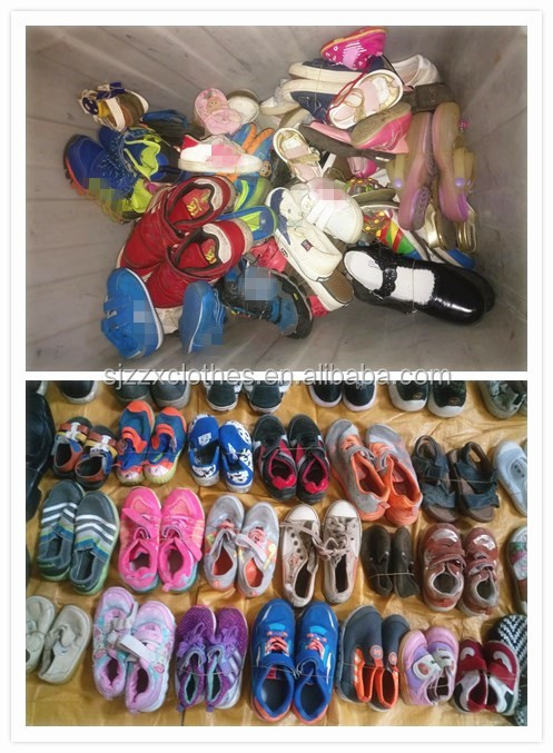 High quality second hand shoes unsorted trade assurance cheap baby original unsorted used shoes
