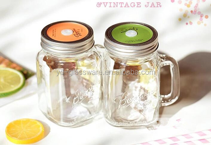Cool and refreshing fruit juice glass cup seriesMulti-functional glass cupSalad glass mug
