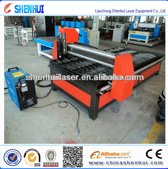 Sheet metal fabrication mild steel machine widely used China product/low cost cnc plasma cutting machine