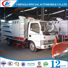 New condition Brand best price mini road sweeper truck snow plow truck for sale