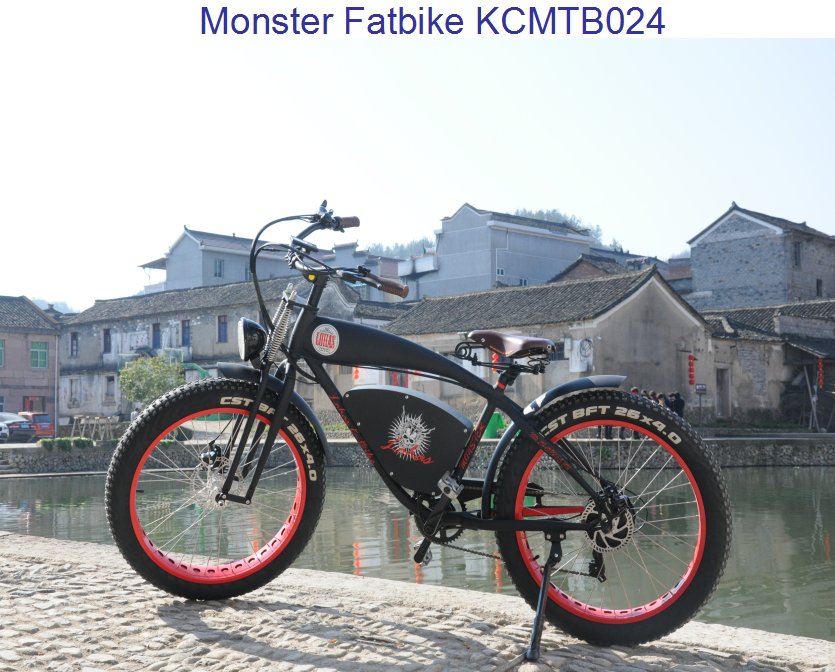 "Lohas/OEM 750W 48V 26"" High Quality Fat Tire Ebike, Fat Electric Bicycle, Fat Electric Bike KCMTB024"