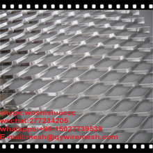expanded metal for trailer flooring/expanded metal mesh philippines/walkway with aluminum expanded metal mesh