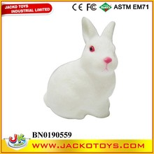 EN71/ASTM Hot selling good quality soft rubber rabbit toy