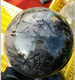 wholesale natural crystal stone ball polished white hair crystal sphere for decoration