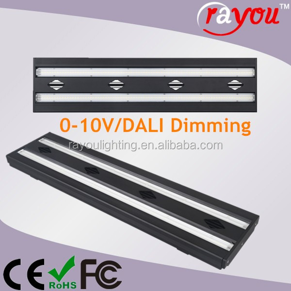 0-10V DALI Dimmable linear led high bay light,high quality led linear trunking system for shopping mall