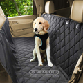 Multifunctional pet car cover nylon puppy car seat cover 600d pet car cover