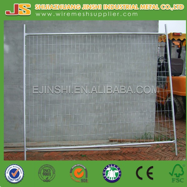 Galvanized Metal Welded Wire Mesh Removable Temporary Fence Panel