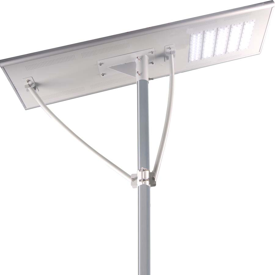 2018 YR 10-12M 24V 100W New Style All In One Solar Street Light,With Solar Led Light,For Urban,Country,Squares,Parks Lighting