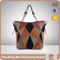 4084 Fashion woman custom synthetic leather lady wholesale hand bags in egypt