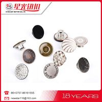 Alibaba provided round nickel free eco-friendly old metal buttons