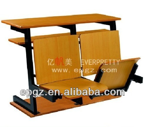 College Chair University School Desk And Chair Set Lecture Hall Chair