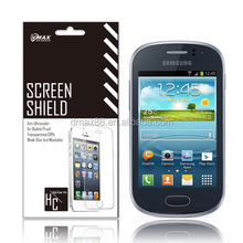 For Samsung galaxy fame s6810 screen protectors oem/odm(Anti-Glare)