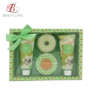 Fabulous paper box bath and body gift set wholesales