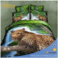 kids cartoon bed sheet/3d duvet covers/luxury custom bedding