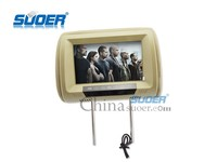 Suoer 9 inch hd bus video player car headrest tv monitor
