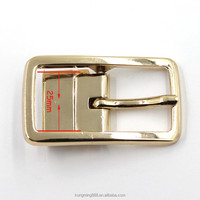 Western Pin turning 32mm buckle for belt ZINC ALLOY Reversible belt buckle manufacturer