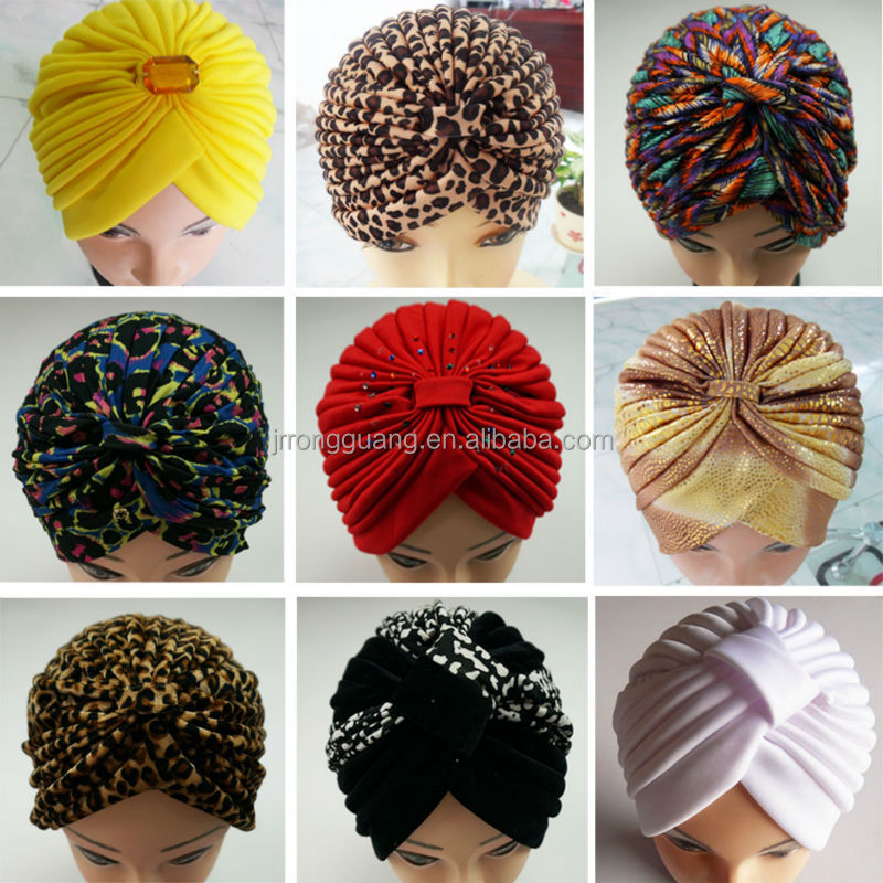 Factory High quality Wholesale Chemo India Arabic Custom Turban Headband