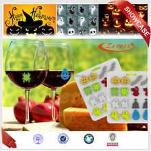 Hallowmas Promotional Gifts: Latest Design Silicone Glass Markers