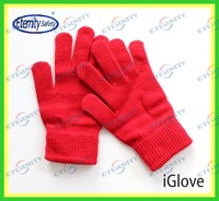 New fashion cheap warm touch screen smart phone gloves in winter