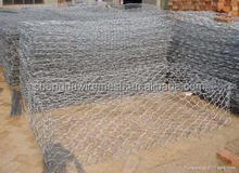 Hot sale electrical galvanized Hexagonal gabion box wire mesh form China
