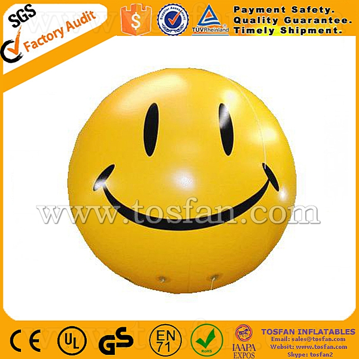 promotion large helium round balloon with printing F2058
