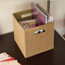 Factory price hot selling hot sale oem fabric file storage boxes