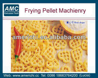 Potato starch frying pellet snack food machines