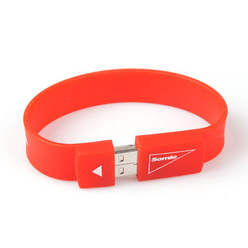 Hot sale silicone bracelet usb flash drive direct buy china