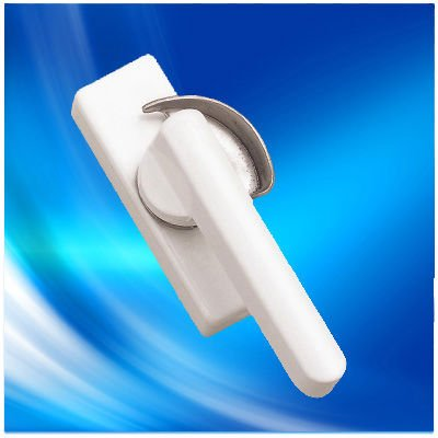 Crescent shape window lock for sliding window #3