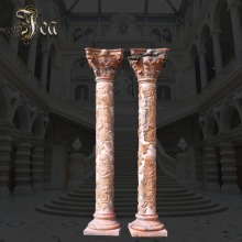 Best choice marble stone roman column for sale