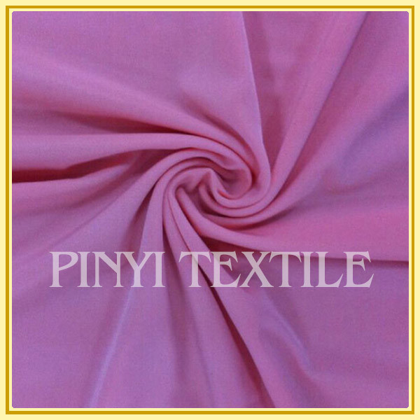 Top quality High-end polyester spandex stretch knitted fabric